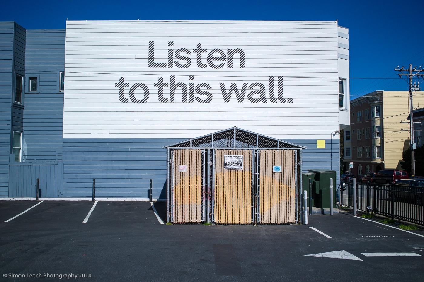 Listen to this wall, Haight Ashbury