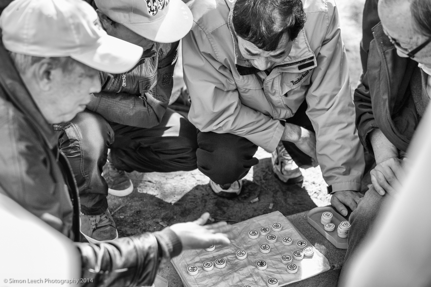 Chinese Chess in Chinatown, San Francisco