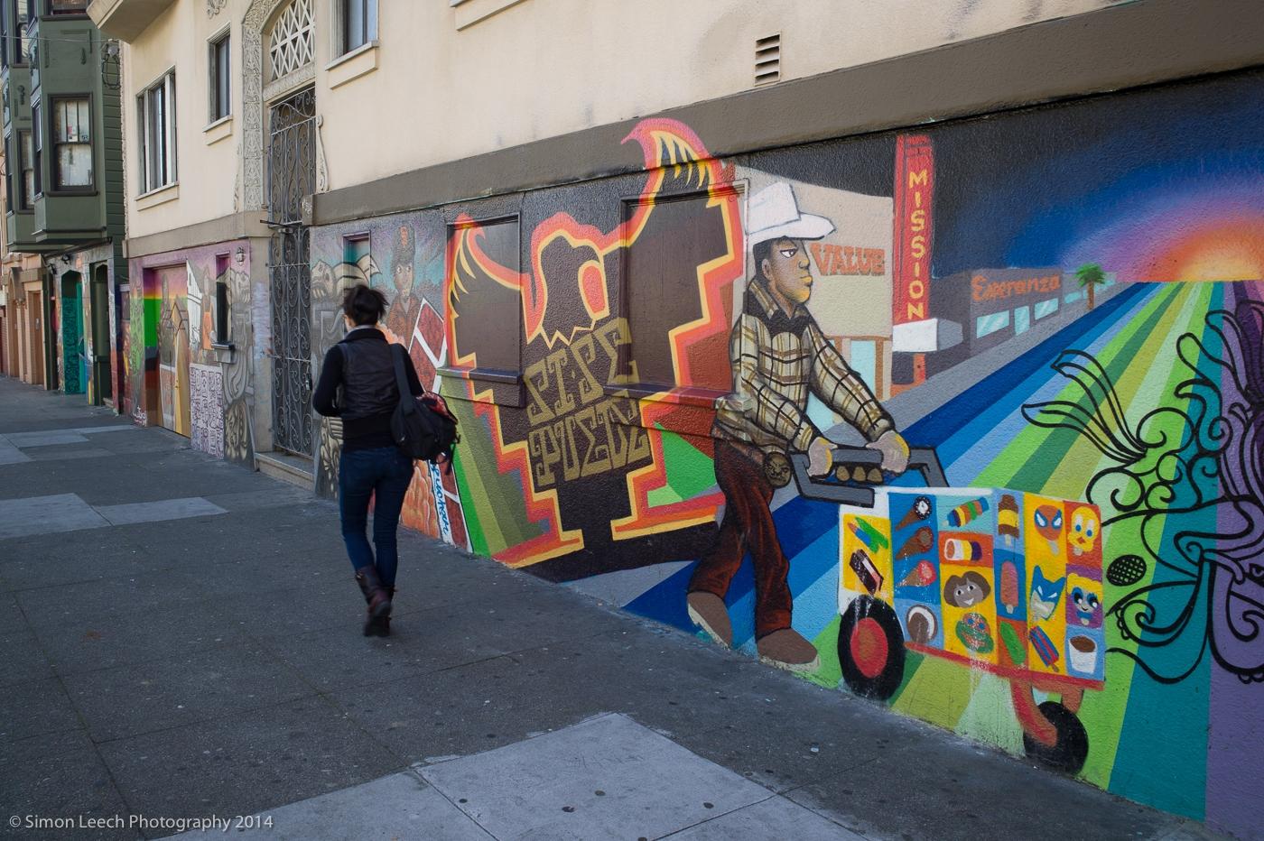 Mission District Street Art