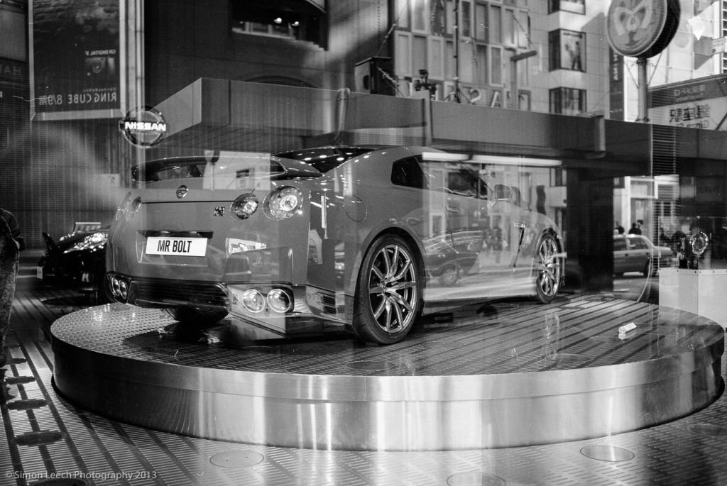 Usain Bolt's Nissan GT-R