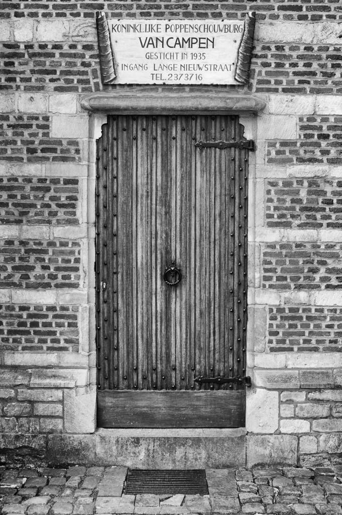 Door at the Puppet Theatre