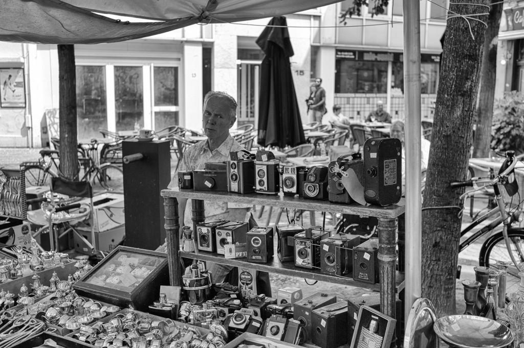 Camera salesman, Grote markt, Antwerp