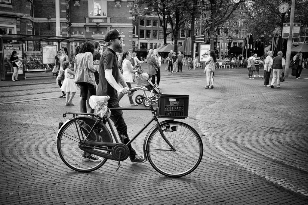 Hipster, Leidseplein, Amsterdam
