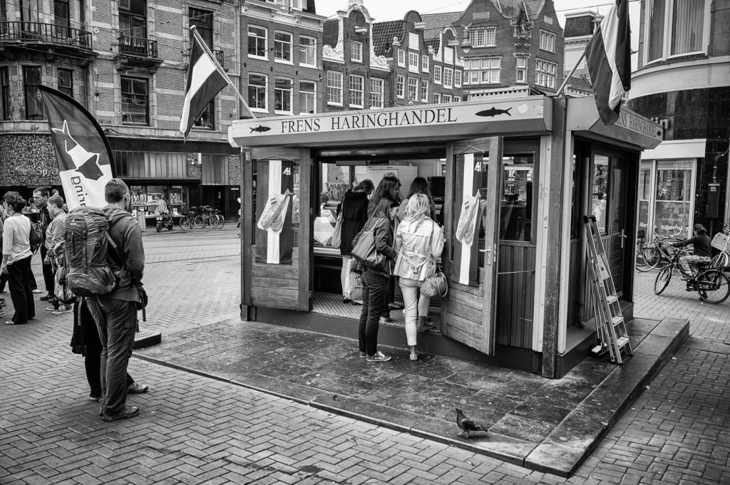 Frens Haringhandel, Koningsplein, Amsterdam