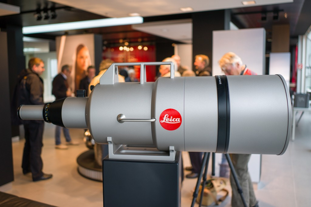 A prototype of the one off Leica-R 1600mm f/5.6 lens. This lens was a special order for a Sheikh from Qatar, who reportedly paid $2 million to Leica to build such a lens.....
