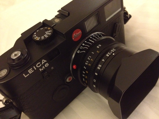 Leica M6 with Summarit 35mm