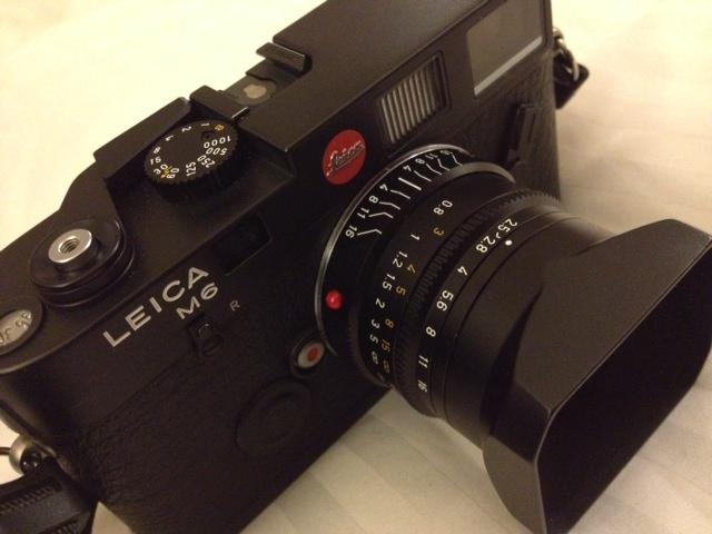 Leica M6 with Summarit 35mm